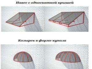 Козырьки_ 2 вида