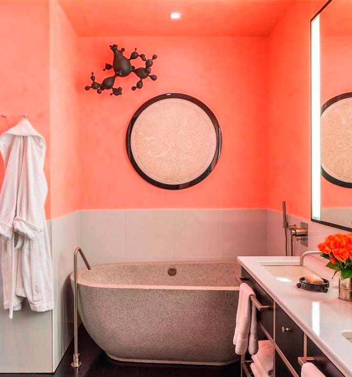Достоинства акриловой краски для стен в ванной