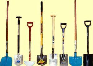 8 видов лопат для сада