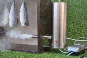 Фото фабричного дымогенератора
