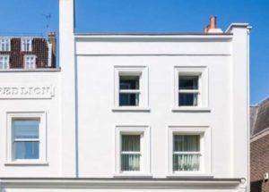 Дом с рустованным фасадом