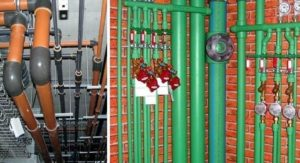 Труба для стока и водоснабжения