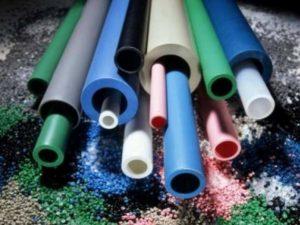 Разные цвета ПВХ труб