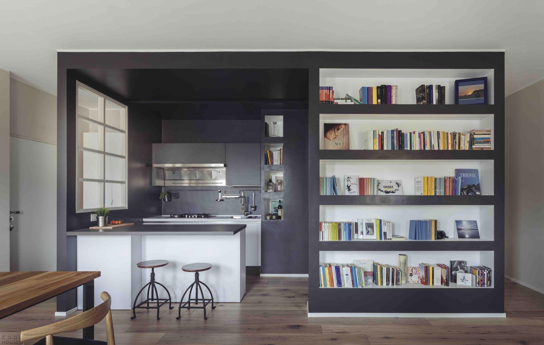как подобрать библиотеку в скандинавском стиле