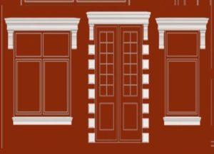 готовые элементы декорации для фасада