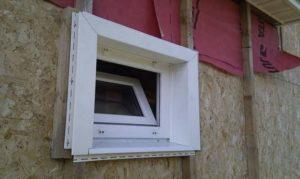 Как обшить вокруг окно сайдингом