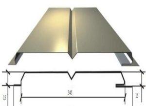 Размеры металлосайдинга – длина, ширина, особенности