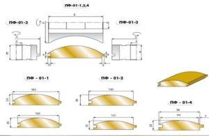Помимо деревянных выпускают металлические и виниловые панели