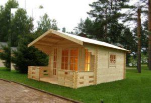 Дачный дом из сосны