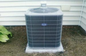 Воздушное отопление - насос