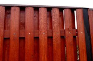 Возможность быстро отремонтировать определенный участок заборного полотна, при неполадках.