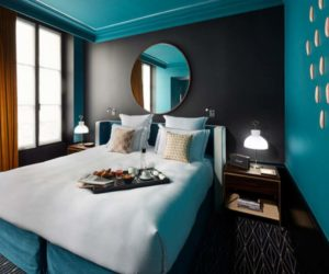 Циановая спальня