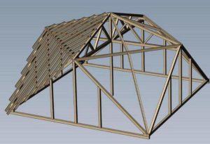Модель крыши