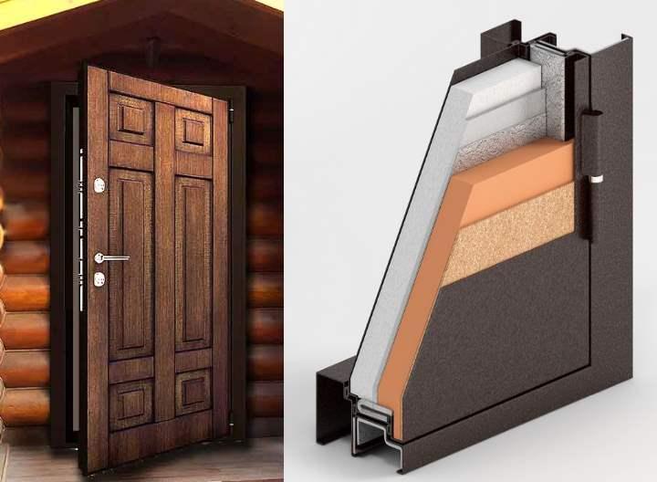 Внутреннее заполнение двери