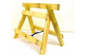 Крупным планом козлы строительные