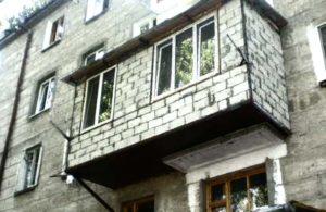 Балкон из газобетона
