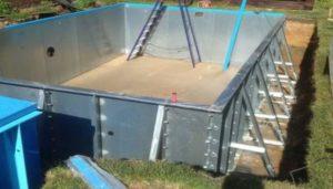 Фото бассейна из панелей