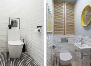Два вида туалета.