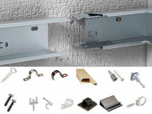 Порядок крепления кабель канала на стену