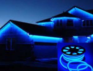 Синие дома
