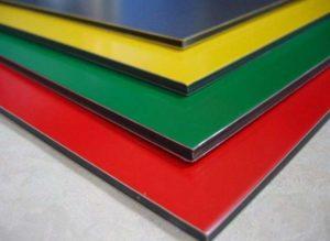 Алюкобонд представляет собой композитный материал