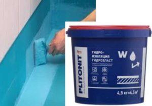 Мастика для гидроизоляции пола в ванной комнате: типы, особенности применения