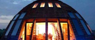 Строительство купольного дома