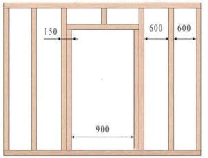 Перегородка, в которой будет установлена дверная конструкция, требует особого и ответственного подхода