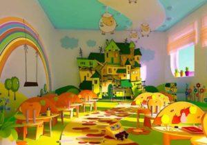Обои для детского сада: какие можно использовать, что лучше