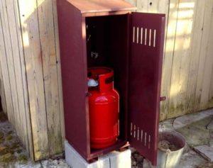 Газовый баллон на даче – достоинства и недостатки