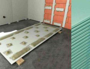 как выполнить отделку стен гипсокартоном без каркаса