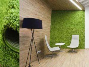 ковролин на стене будет выполнять не только эстетические, а и практические функции