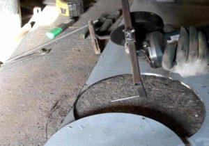 сделать круглое отверстие в плитке