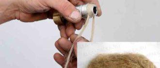 Как наматывать лен на трубу своими руками: пошаговая инструкция + фото