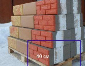 оба внутренних слоя теплостенных блоков для отделки отличаются по структуре