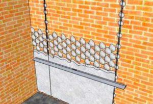 Метод с маяками можно использовать, если вместе со стыком вы планируете выполнить выравнивание стен