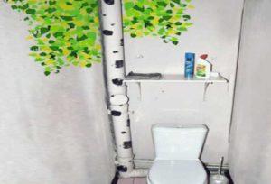 Лучшие способы скрыть трубы в ванной без каркаса