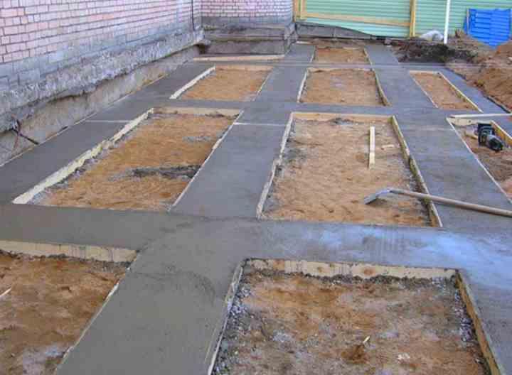 подсыпка под бетон