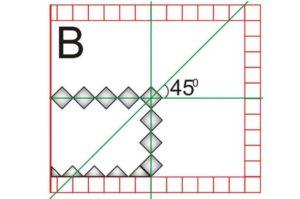 Составление схемы по укладки плитку