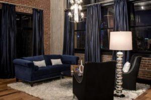 Грамотно подобранный текстиль придает дому уют и тепло