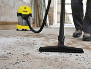 Чем покрыть бетонный пол чтобы не пылил