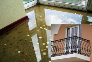 эпоксидный пол на балконе способен выполнять функции напольного покрытия