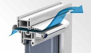 Достоинства пластика сведены к нулю, так как тепловая изоляция помещения становится выше.