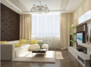 Будет ли спальня отделена, т.е. зонирована, или же жильцы будут спать на обычном раскладном диване.