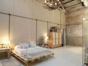 Эконом-дизайн стен спальни
