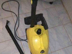 Если в квартире есть паровой очиститель