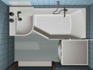 площадь современных ванных комнат почти не рассчитана на то, чтобы полноценно можно было расслабиться