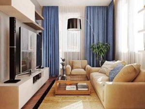 оформление маленькой комнаты для гостей задает вам много задач