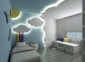Освещение детской комнаты должно быть хорошим