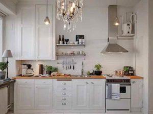 Белая кухня как смелое решение